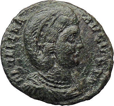 Helena Saint Mother of Constantine the Great Ancient Roman Coin Security i30293