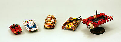 15mm Classic Laserburn Re-Mastered Unpainted Resin Vehicle Kits - Multi-Listing
