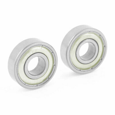 Pair 6000ZZ Replacement Sealed Deep Groove Ball Bearings 26mm x 10mm x 8mm