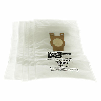 Vacuum Cleaner Hoover Dust Bags for Kirby Sentria Micro Plus Microfibre x5 Pack