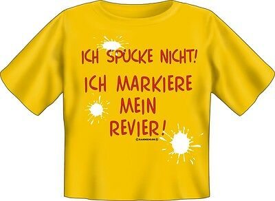 T-Shirt Baby SPUCKE REVIER Kinder Shirt Kids Spruch witzig Fun 68-74