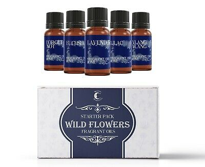 Mystic Moments Fragrant Oil Starter Pack - Wild Flowers 5x10ml (SP10FOWILDFLOW)