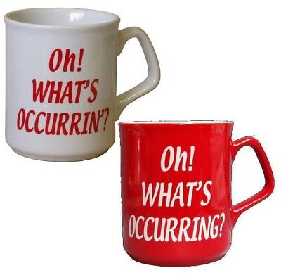Gavin And Stacey - White Oh Whats Occurrin? Coffee/tea Mug - Welsh Red Barry