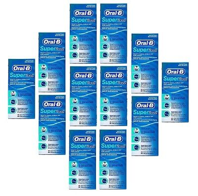 12x Oral B Superfloss Strands