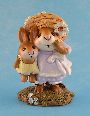 MISS DAISY by Wee Forest Folk, WFF# M-182, LAVENDER, Retired 2011