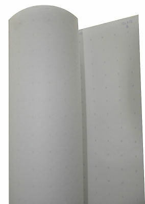 """Alpha Numeric Dotted Marking Paper Roll of 48"""" tall, 400 linear feet"""