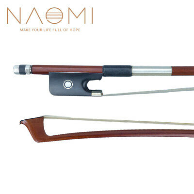 CELLO BOW 4/4 -New Brazilwood FREE SHIPPING-Ebony Frog For 4/4 Cello Bow