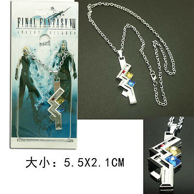 Final Fantasy 13 FF XIII-2 Lightning Cosplay Necklace Chain Pendant