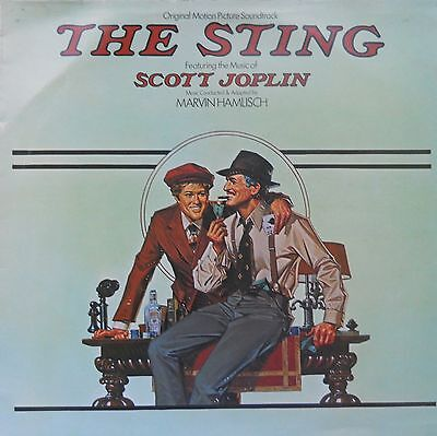 Soundtrack From The Sting 1974  Ex/Ex