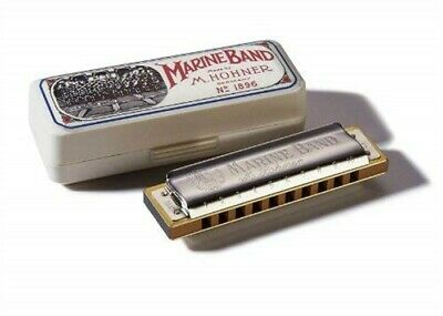 Hohner 1896 Marine Band Harmonica - Key of G