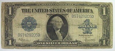 $1 1923 LARGE Size USA SILVER CERTIFICATE DOLLAR