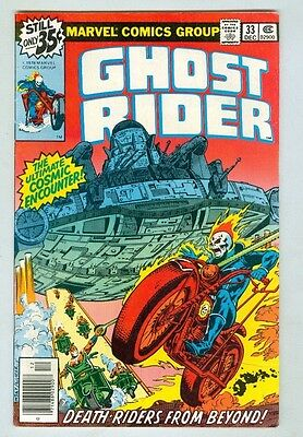 Ghost Rider #33 December 1979 VG+ Death Riders from Beyond