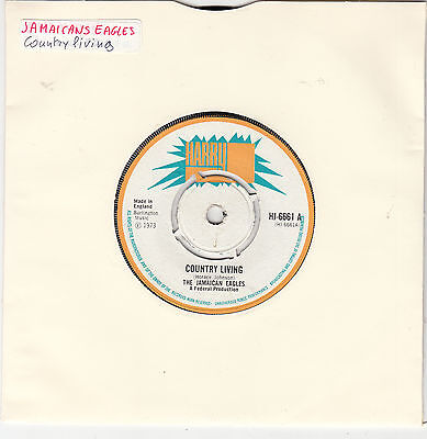 """THE JAMAICAN EAGLES - country living 45"""""""