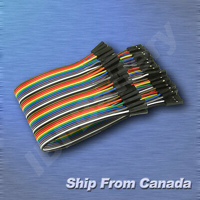20cm 40 conductors Female to Female flat ribbon cable Connector For Arduino