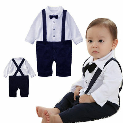 baby boys christening outfit 3-24 months LONG,SHORT SLEEVE wedding birthday suit