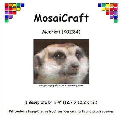 MosaiCraft Pixel Craft Mosaic Art Kit /'Keep Calm and Knit/' Pixelhobby