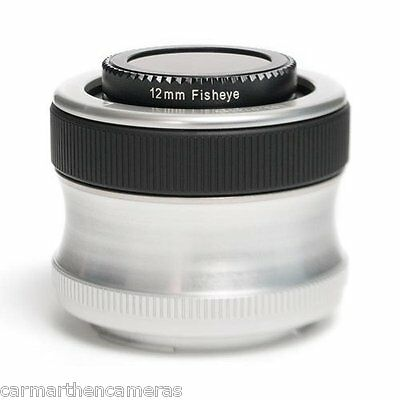 Lensbaby Scout with Fisheye Optic for Nikon **UK STOCK**