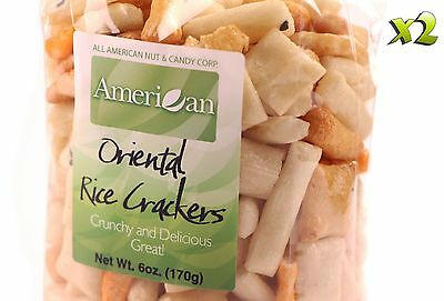 12oz Gourmet Style Bags of Oriental Rice Crackers [3/4 lb.]