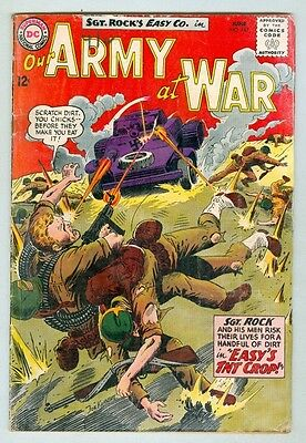 Army at War #143 June 1964 G/VG Sgt. Rock