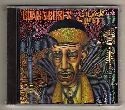 GUNS N ROSES - SILVER BULLET - CD LIVE in LOS ANGELES '88- NO CDr -SEALED  MINT!