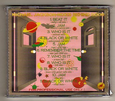 Michael Jackson - Mixes Behind Door - For Professional Use Only - Sealed  Mint!