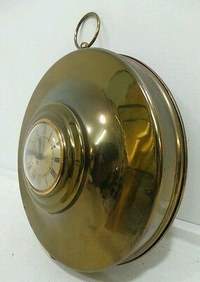 Vintage Brass Wall Clock Movement by Sessions Made in USA