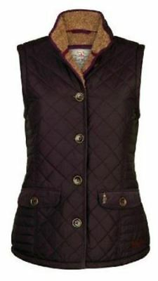 Jack Murphy Ladies Mairead Quilted Gilet Waistcoat Choice of Colours