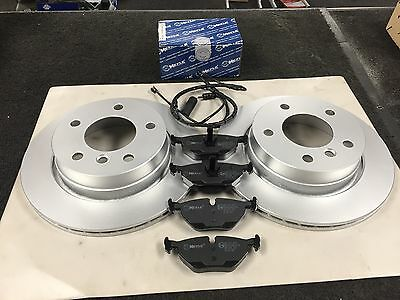 Rear Vented Brake Discs BMW 3 Series 320 Ci Coupe 2000-05 170HP 276mm