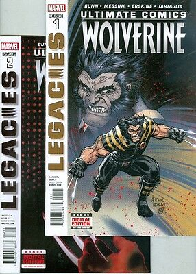 Ultimate Comics Wolverine #1, #2, #3 and #4 VF/NM Complete Set