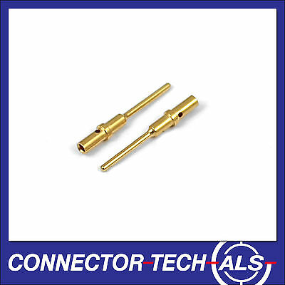 25X Deutsch DTM No.20 Gold Male Contacts from Connector-Tech #0460-202-2031x25