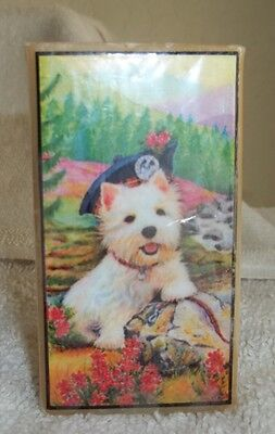 Westie Or West Highland White Terrier  On A Soap New! Made In Usa