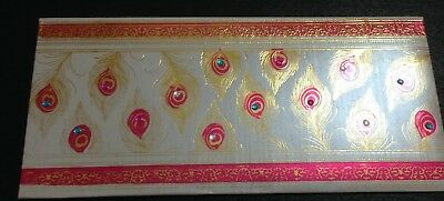 2 Beautifully Decorated Gift/money Envelopes For Occasions Wedding Few Options