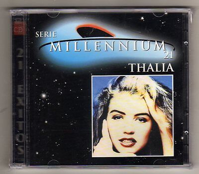 Thalia - SERIE MILLENNIUM 21 HITS  - 2  CD LIMITED EDITION USA - SEALED MINT