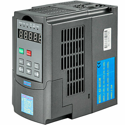 2.2Kw 220Vac Single Phase Variable Frequency Drive Inverter Vsd Vfd 3Hp 10A