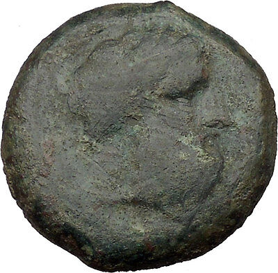 Syracuse in Sicily 344BC Timoleon Zeus Eleutherios Ancient Greek Coin  i36652