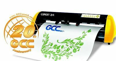 "GCC Expert II 24"" Vinyl Cutter Plotter Best Selling SIGN VINYL HEAT PRESS PC/MAC"