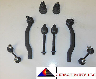 Accord 2.3L 4Cyl Ball Joints Tie Rod Control Arms Rear Front Sway Bar Links NEW