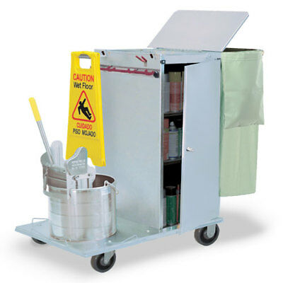 Royce Rolls #C36-04E Stainless Steel Std-Size Non-Folding Housekeeping Cart