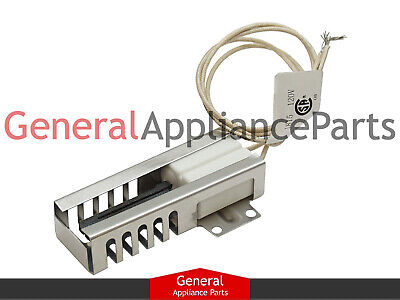 Frigidaire Kenmore Tappan Gas Oven Stove Cooktop Flat Ignitor Igniter 5303935066