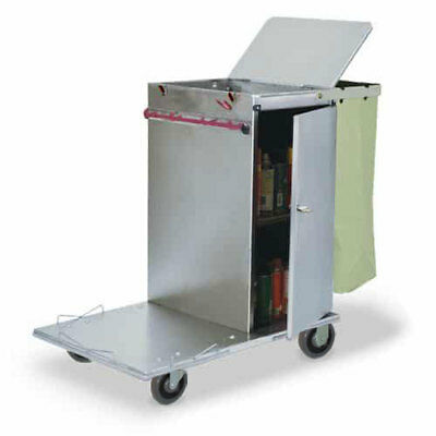 Royce Rolls #C30 Stainless Steel Mini Non-Folding Housekeeping Cart