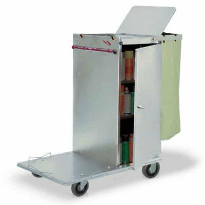 Royce Rolls #C36 Stainless Steel Std Non-Folding Housekeeping Cart