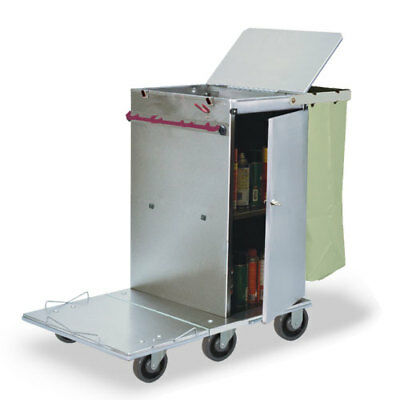 Royce Rolls #F30 Stainless Steel Mini-Size Non-Folding Housekeeping Cart
