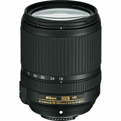Nikon Nikkor 18-140 mm F/3.5-5.6 SWM AS VR IF G ED Lens