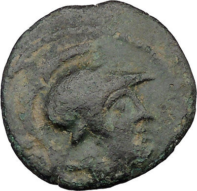 Seleukeia in Cilicia 2nd-1st CenturyBC Ancient Greek Coin Athena Nike  i36673
