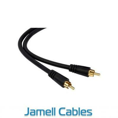 10m RCA to RCA Subwoofer Cable