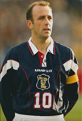 Gary McALLISTER Signed 12x8 Photo AFTAL COA Autograph Scotland Captain