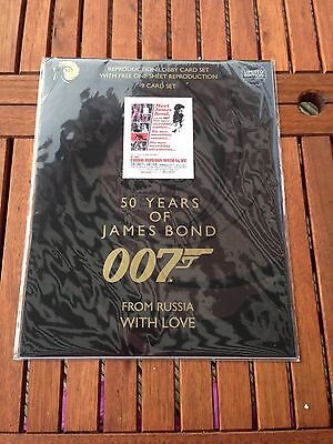 James Bond 50 Years - From Russia With Love - 9 Lobby Card Collectors Set - NEW