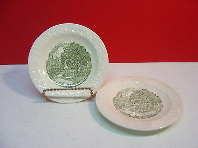 Taylor Smith & Taylor China PASTORAL Two Saucers