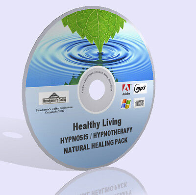 Hypnosis, Hypnotherapy, Natural Healing DVD Pack - MP3  Audio, Guides and More!