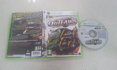 World of Outlaws Sprint Cars Xbox 360 Game PAL